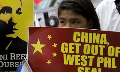 Biểu tình hòa bình chống Trung Quốc ở Philippines