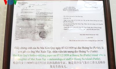 Hoàng Sa muôn đời là của Việt Nam