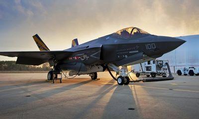 """Mỹ tạm đình bay """"siêu chiến đấu cơ"""" F-35"""