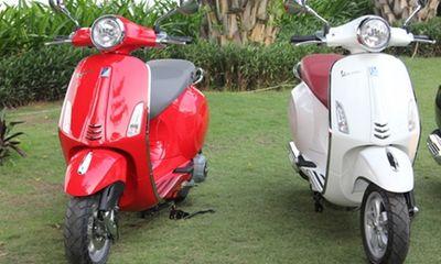 Piaggio Vespa và Honda SH : Đối thủ không cùng sân