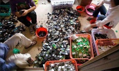 Tái chế rác thải điện tử: đường còn dài