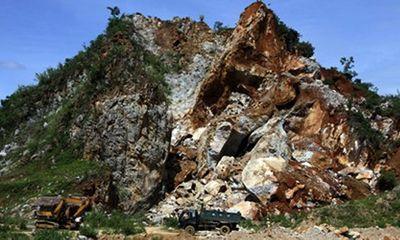 Phú Thọ: Nổ mìn để tìm kiếm nạn nhân vụ sập mỏ đá