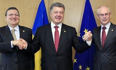 Ukraine ký kết thỏa thuận thương mại lịch sử với EU