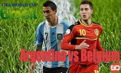 Dự đoán tỷ số trận Argentina đấu với Bỉ 23h ngày 5/7