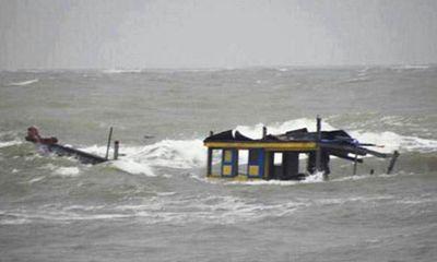 Vụ chìm tàu ở biển Kê Gà: Thấy 1 thi thể, 5 ngư dân vẫn mất tích