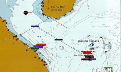 Tối 16/7: Giàn khoan TQ dịch chuyển ra ngoài vùng biển của VN