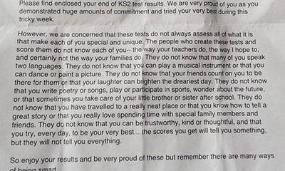 Xúc động với bức thư gửi các em học sinh tiểu học ở Anh