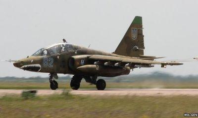 Ukraina cáo buộc Nga bắn rơi máy bay chiến đấu Su-25