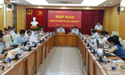 Cách chức 2 cán bộ thuộc Thanh tra Chính phủ
