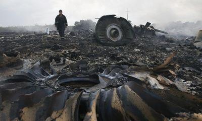 Máy bay Malaysia MH17 chở 295 người rơi ở Ukraina