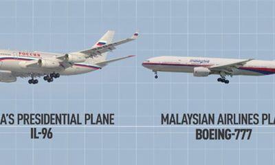 Máy bay Malaysia bị bắn vì giống chuyên cơ chở ông Putin?