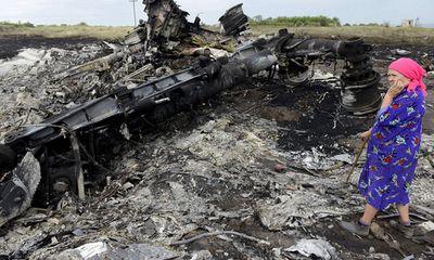 Hình ảnh hiện trường vụ máy bay MH17 rơi do trúng tên lửa