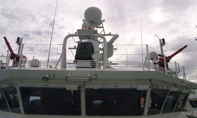 Chùm ảnh: Thăm tàu Kiểm ngư 781 hiện đại nhất Việt Nam