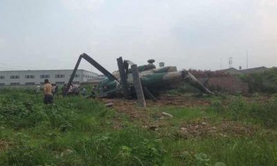 TQ rơi máy bay trực thăng quân sự, ít nhất 6 người bị thương