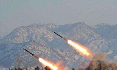 Triều Tiên bắn liên tiếp 4 quả tên lửa tầm ngắn trong ngày 30/7