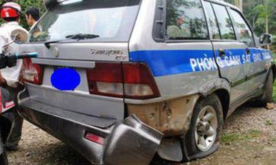 Khởi tố tài xế xe tải nhấn ga tông xe CSGT