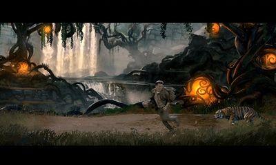 Clip: Đàm Vĩnh Hưng chạy thục mạng khi bị hổ dữ đuổi