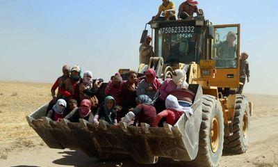 Hình ảnh sắc tộc Yazidi ở Iraq trước họa diệt chủng