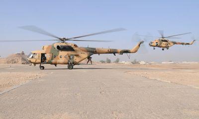 Trực thăng MI-17 rơi ở miền bắc Iraq trong sứ mệnh nhân đạo