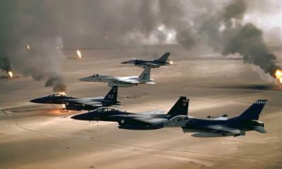 Máy bay Mỹ tiếp tục không kích IS gần Erbil và đập Mosul