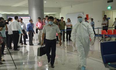 Bộ Y tế diễn tập phòng chống Ebola tại sân bay Tân Sơn Nhất