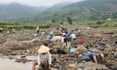 Ô nhiễm vì khai thác tài nguyên khoáng sản