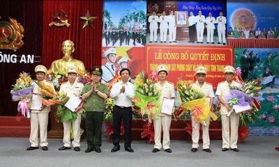Thành lập Cảnh sát PCCC tỉnh Thanh Hoá