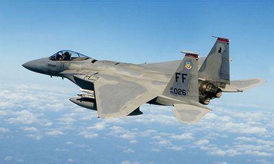 Máy bay tiêm kích F-15 của Mỹ rơi, phi công mất tích