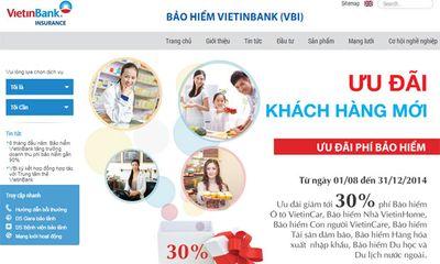 Bảo hiểm VietinBank ra mắt website mới