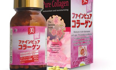 Fine Pure Collagen chống nhăn giúp trắng sáng da hiệu quả
