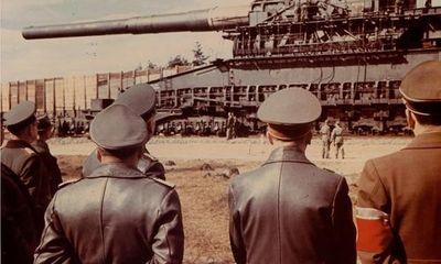 """""""Gustav Gun"""": Khẩu đại pháo lớn nhất thế giới"""
