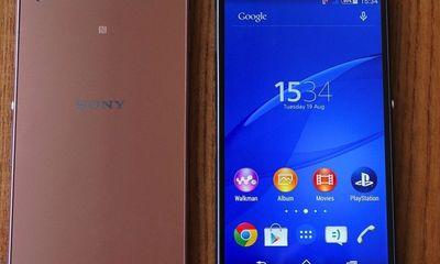 Cận cảnh smartphone Xperia Z3 mà Sony vừa trình làng