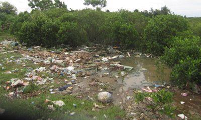 Dân sống chung với rác ở cảng cá Lạch Vạn