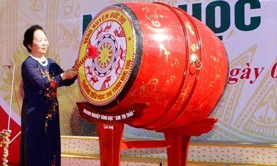 Phó Chủ tịch nước dự lễ khai giảng tại trường tiểu học ở Hà Tĩnh