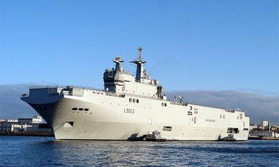 """Vì sao Nga """"mê"""" tàu đổ bộ trực thăng Mistral của Pháp?"""