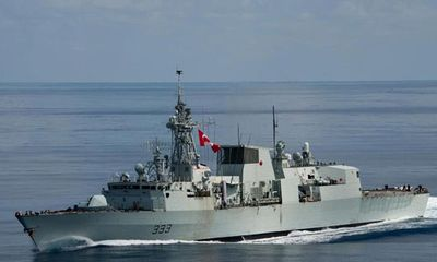 Chiến đấu cơ Nga áp sát tàu khu trục Canada ở Biển Đen