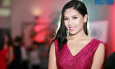 Hoa hậu biển Nguyễn Thị Loan xinh đẹp đi dự event