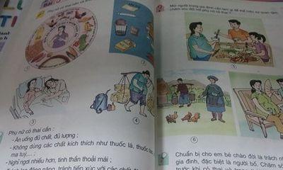 Trẻ lớp 5 học thuộc lòng kiến thức về phụ nữ mang thai