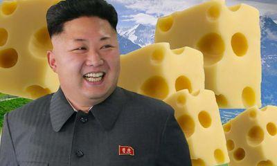 Kim Jong-un tăng cân chóng mặt vì phô mai Thụy Sĩ?