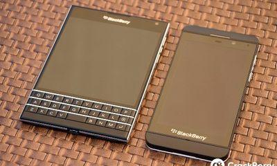 Mãn nhãn với BlackBerry Passport đậm chất BB