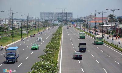 Thông xe tiếp đường nội đô 10 làn đẹp nhất Sài Gòn