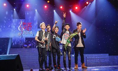 Nhóm FB Boiz đoạt giải Bài hát Việt tháng 9