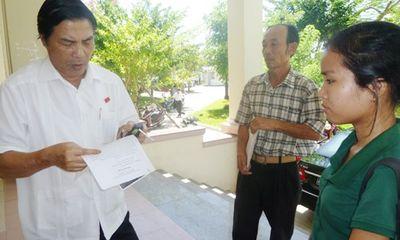Thư ký thông báo ông Nguyễn Bá Thanh không thể về tiếp xúc cử tri
