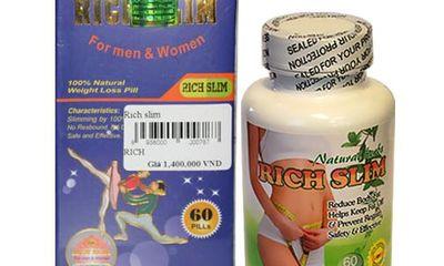 Rich Slim- Hỗ trợ giảm cân an toàn, hiệu quả