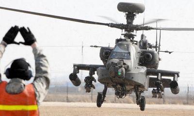 """Mỹ lần đầu tung """"sát thủ"""" Apache tiêu diệt phiến quân IS"""