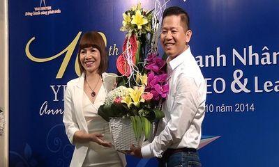 Giao lưu chào mừng kỷ niệm 10 năm ngày doanh nhân Việt Nam