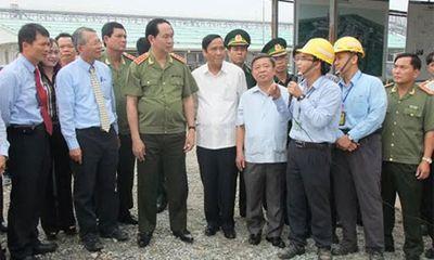 Bộ trưởng Trần Đại Quang thăm, làm việc tại KKT Vũng Áng