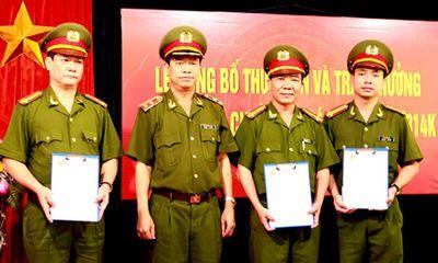 Khen thưởng Ban chuyên án triệt phá sàn vàng