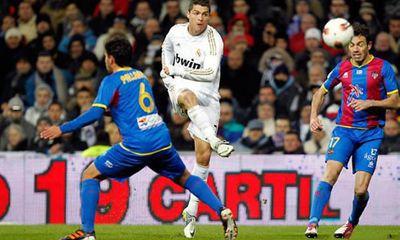 Link sopcast xem trực tiếp trận Real-Levante (21h)
