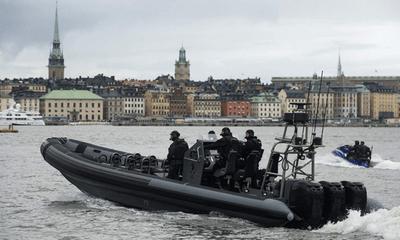 Thụy Điển ráo riết săn lùng tàu ngầm bí ẩn xâm phạm lãnh hải